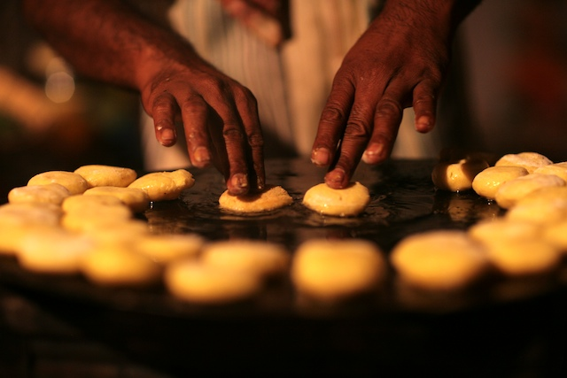 Making ragara patties