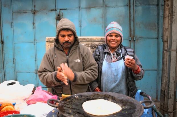 Chapati vendors
