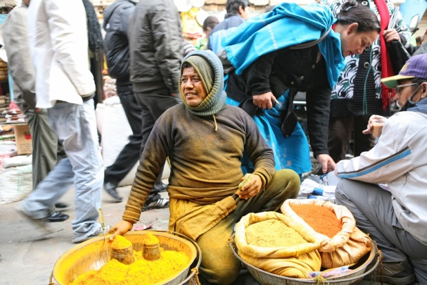 Turmeric Vendor